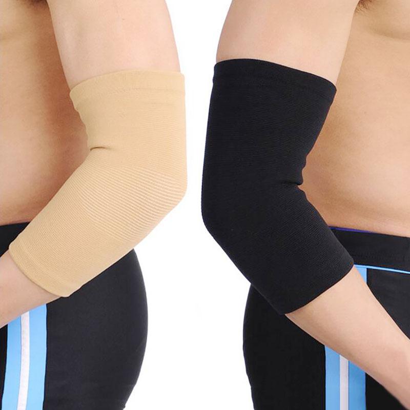 Elastic Elbow Support Neoprene Tennis Golf Arthritis Epicondylitis Pain Brace Gym Sport Elbow Protectors(China (Mainland))