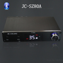 JIE CHUANG JC-SZ80A 80W + 80W Bluetooth 4.0 pure digital power amplifier Fiber / Coax / USB (support mobile OTG) / Bluetooth(China (Mainland))