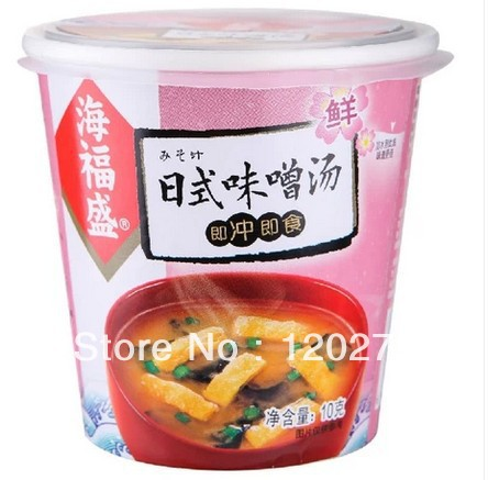 -shipping-Chinese-food-Japanese-miso-soup10g-3-ingredients-vegetable ...