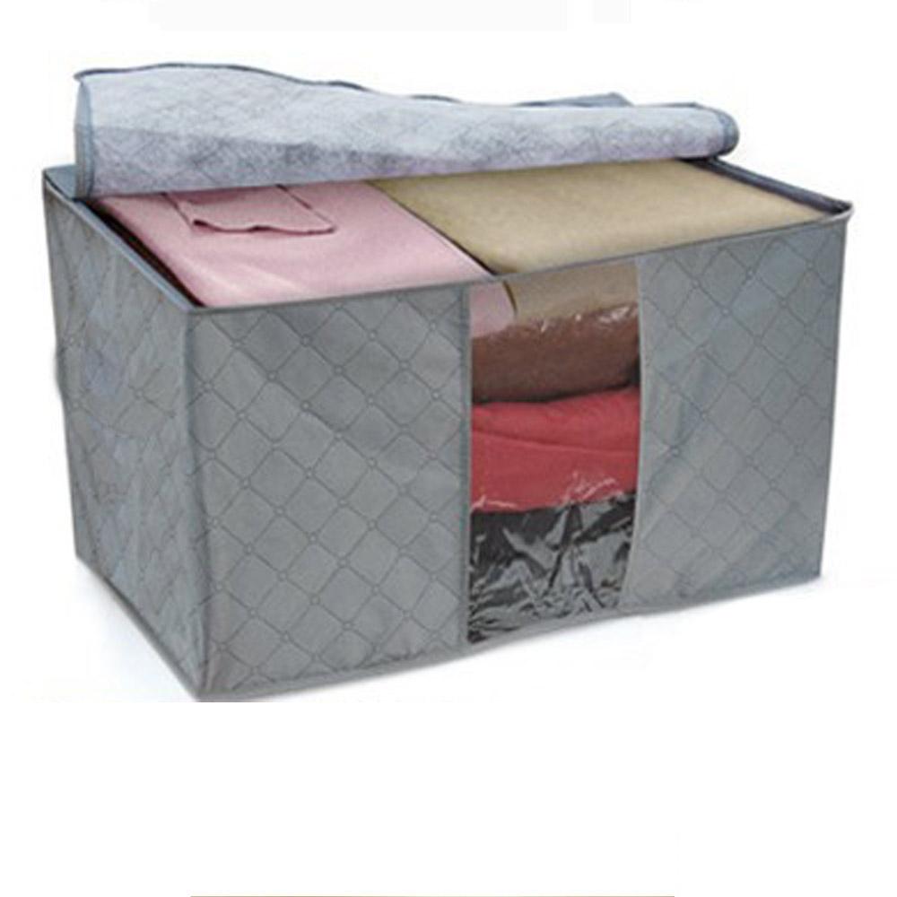 High Quality 2016 New Arrival Storage Boxes Portable boite de rangement Organizer Non Woven Clothing Storage Box(China (Mainland))