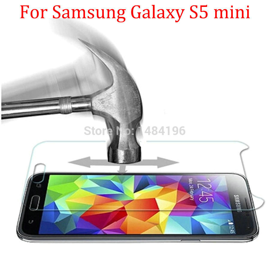 Film Samsung Galaxy S5 mini Premium Anti-Explosion Tempered Glass Screen Protector samsung galaxy s5 G800 - Jinfan E-Commerce Co., Ltd. store