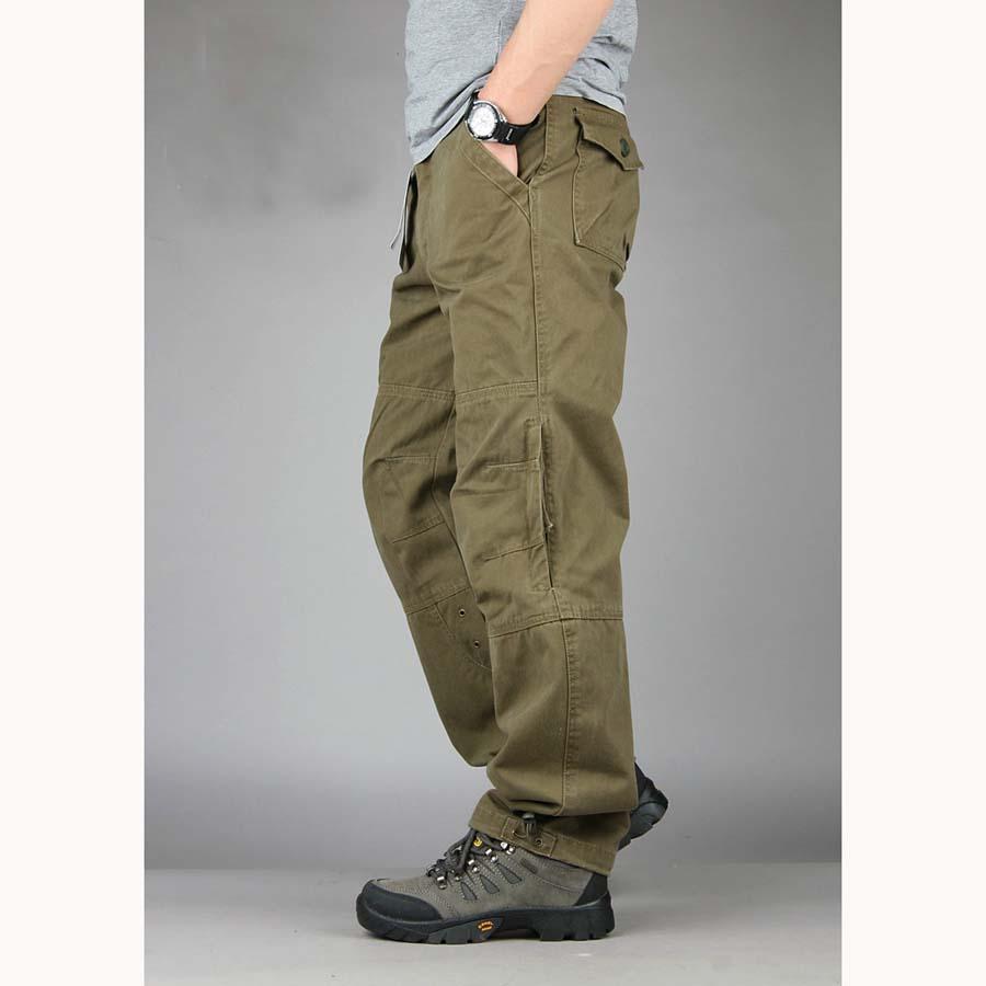 Long Cargo Pants For Men