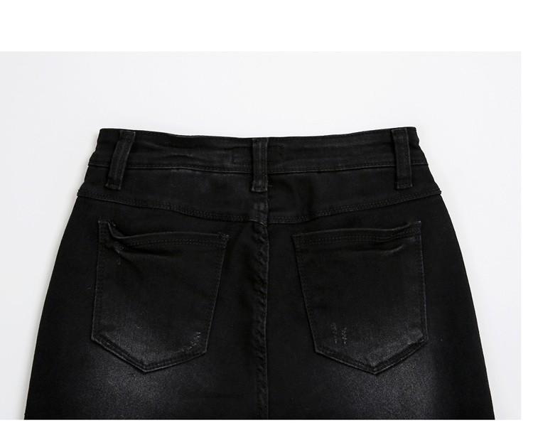 Скидки на Джинсы Женщина плюс Размер Повседневная высокая Талия женщины джинсы тощие Женщины джинсовые Брюки Черный Синий Бренд брюки для женщин 4XL 5XL 6XL