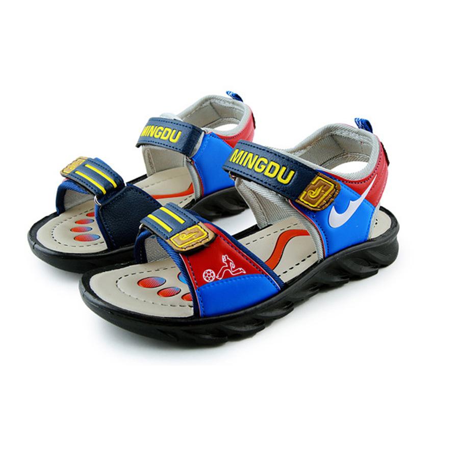 Chicos zapatos 2016 niños sandalias de cuero sandalias de verano para niños baby boys sandalias zapatos baratos al por mayor nueva playa de verano zapatos(China (Mainland))
