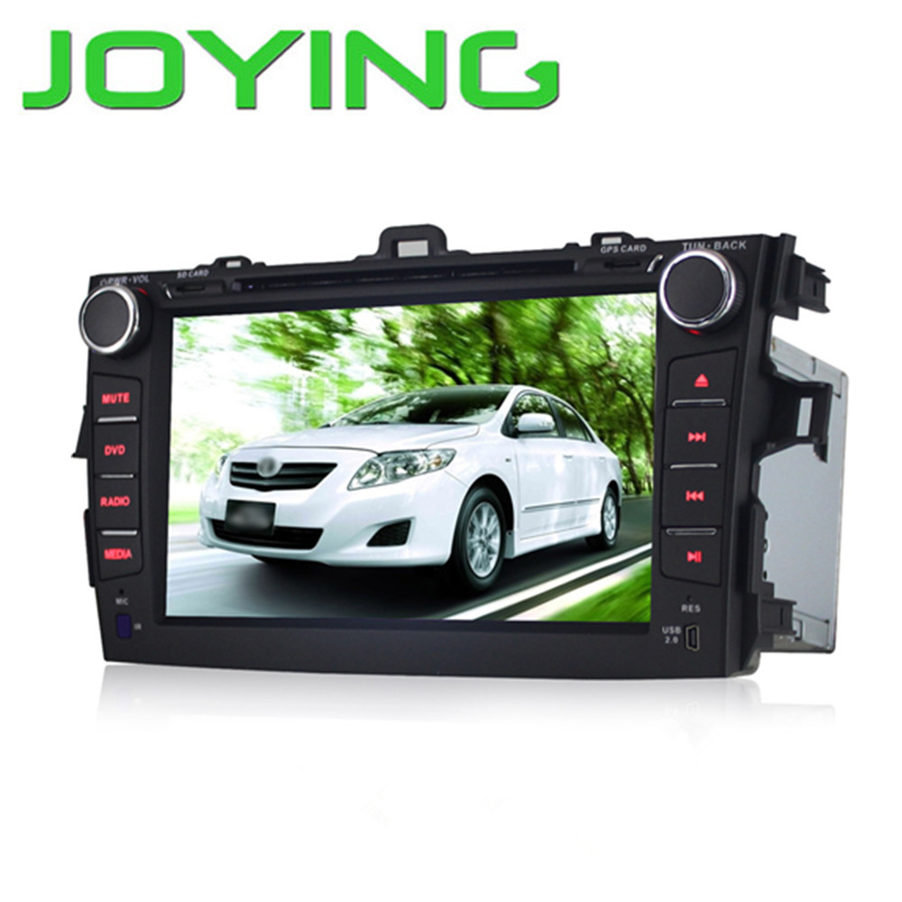 Joying Quad Core 1024*600 Android 5.1 Toyota Corolla 2din Car DVD Player GPS Navigation System Radio 8 inch Automotive Car Radio(China (Mainland))