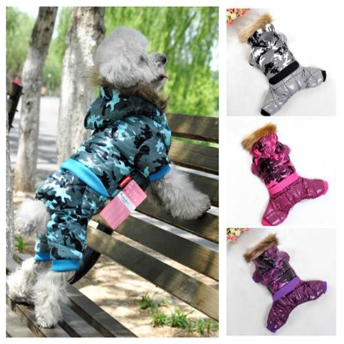 New 2015 Pet Puppy Dog Clothing Winter Ski Hoodie Jacket Pet Product Costume designer  Clothing for Dogs and Pets(China (Mainland))