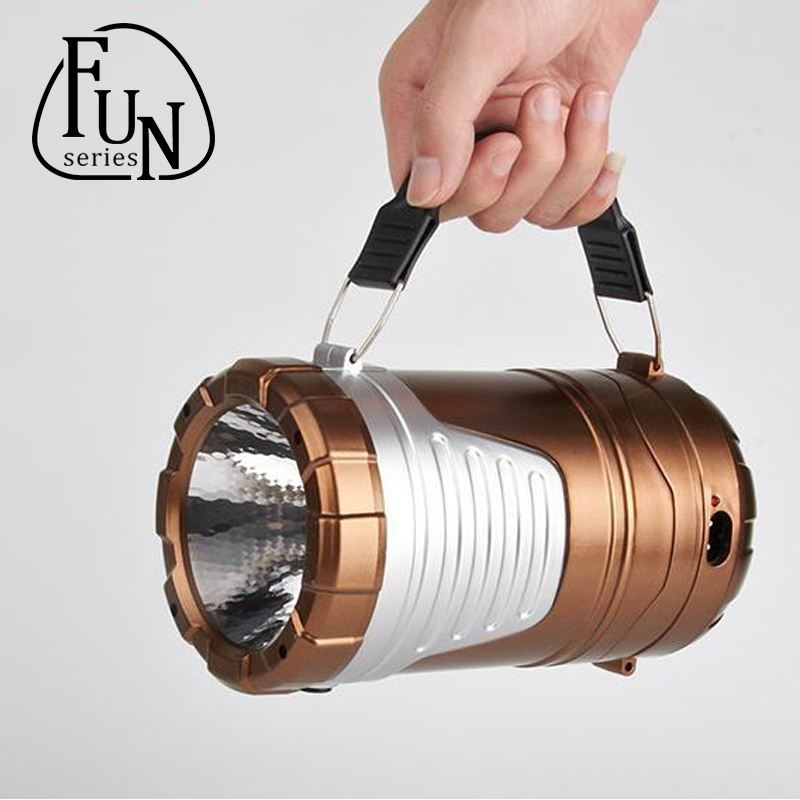 FunSeries Camping Lights Flashlight double one Ultra Bright Collapsible  Lightweight Camping Lanterns Light For Hiking Camping