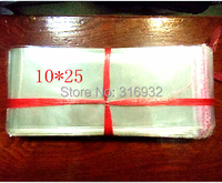 E4 Clear Resealable Cellophane/BOPP/Poly PVC Bags 10*25cm  Transparent Opp Bag Packing Plastic Bags Self Adhesive Seal