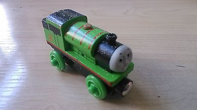 NEW WOODEN THOMAS friend The Tank Engine Train- snow percy(China (Mainland))