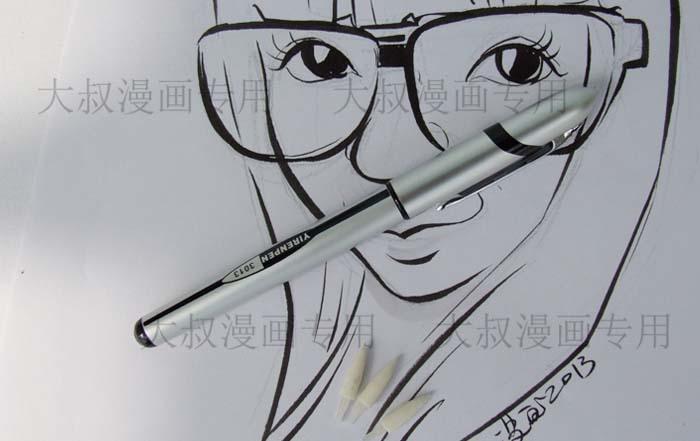 Aliexpress.com: Comprar Línea de dibujo suave pluma soluble en ...