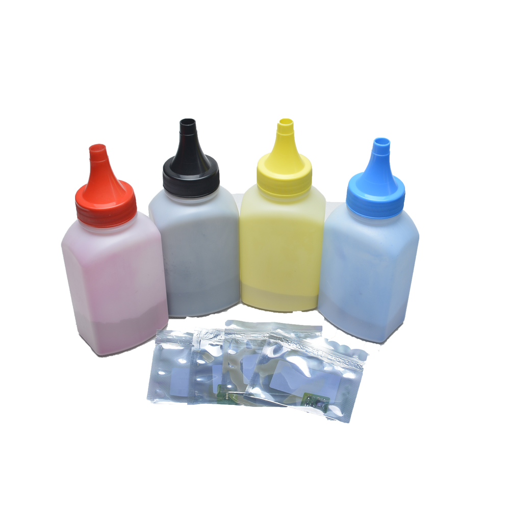 (4 bottles+4 pieces chip)Best Quality Compatible refill Toner Powder 7100 use for Xerxo Phaser 7100(China (Mainland))