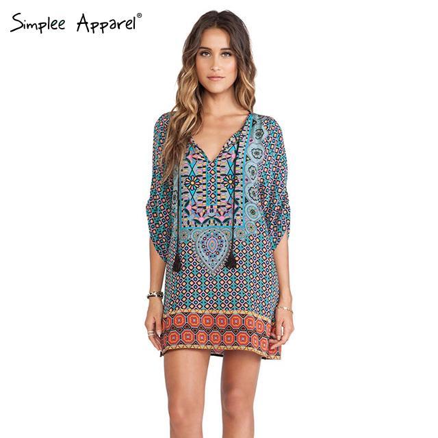Женское платье Simplee Apparel 2015 v vestidos S02W5070189