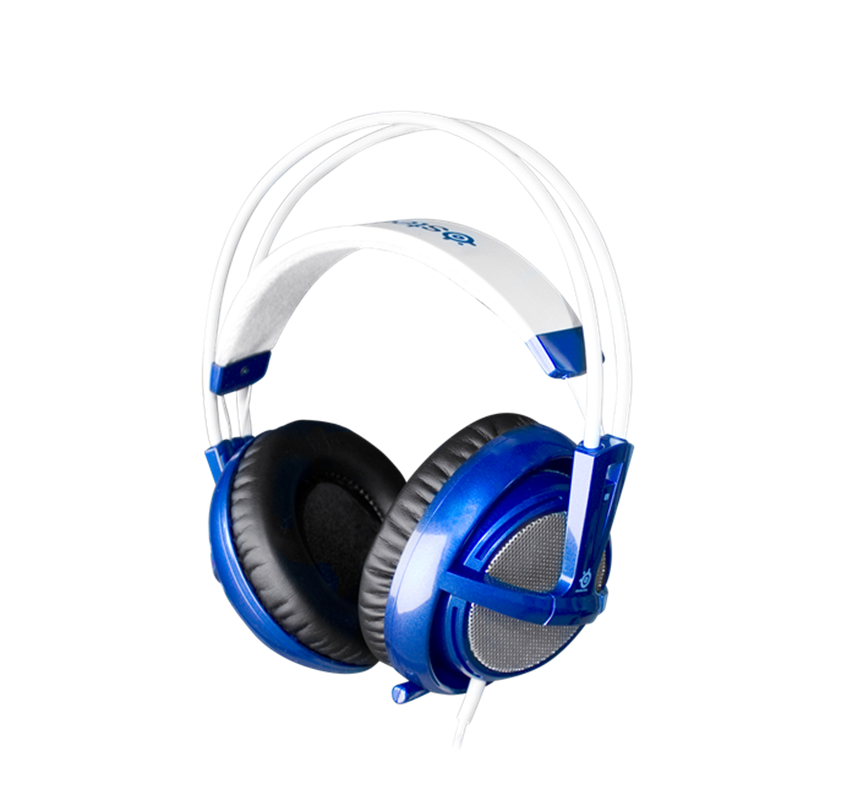 SteelSeries Siberia v2 Full-Size Gaming Headset – (8 colors) By SteelSeries for PC, Mac,Tablets, and Phones PRO Gaming Headphone