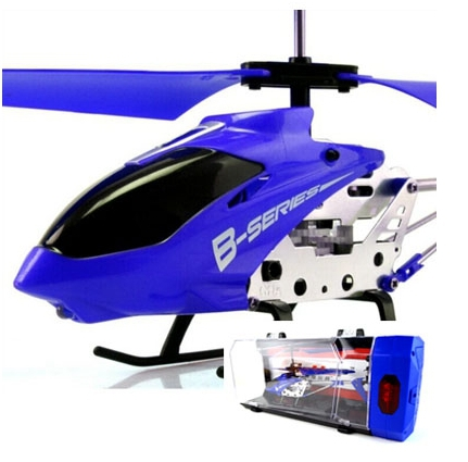 3.5 Channel Alloy Boxed Rc Helicopter Shatter Resistant with Gift Box(China (Mainland))