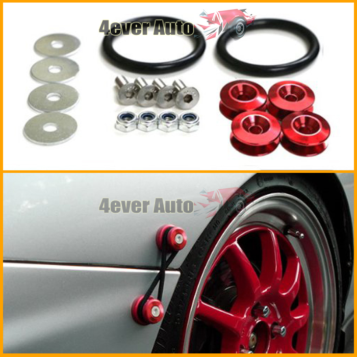 Aliexpress.com : Buy Free Shipping Red JDM Quick Release Fasteners ...