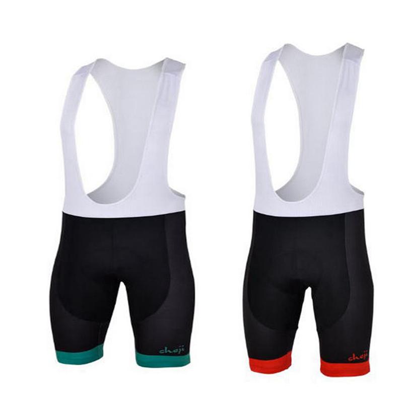 Mens Sport MTB Bike Cycling Bib Shorts Riding Ciclismo 3D Cool Max Pad Bib Shorts Breatheble Green Red<br><br>Aliexpress