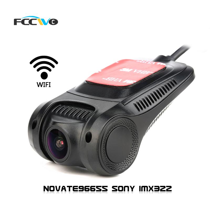 FCCWO R3 Dash Cam Novate96655 Sony IMX322 WiFi 1080P Car DVR Registrator Video Recorder auto camera Dashcam Hidden mini camera(China (Mainland))