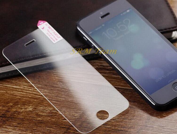 Здесь можно купить  100pcs/lot DHL free shipping Premium Tempered Glass Screen Protector for iPhone 5 5C 5S protective film For iPhone 5 5G 5S TG5S  Телефоны и Телекоммуникации