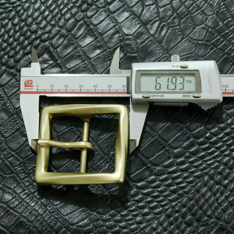 1 1 2 Solid Brass Belt Buckle Vintage Mens Belt Buckle Leathercraft 40 14