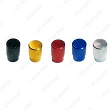 2000PCS Aluminum Alloy Car Wheel Tire Valve Stem Caps Dust Covers 5-Color Gold,blue,red,silver,black #CA5483(China (Mainland))