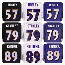 SexeMara 2016 New Roster Mens High Quality 100% Stitched Color Purple Black White Elite Jerseys(China (Mainland))