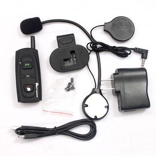 New 10 PCS DK118-1000 Hands-off communication Bluetooth Intercom Motorcycle Bluetooth Interphone with 1000M Talking Range C(China (Mainland))