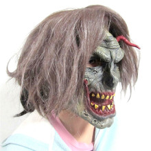 Halloween Party Scary Zombie Mask Creepy Undead Mask