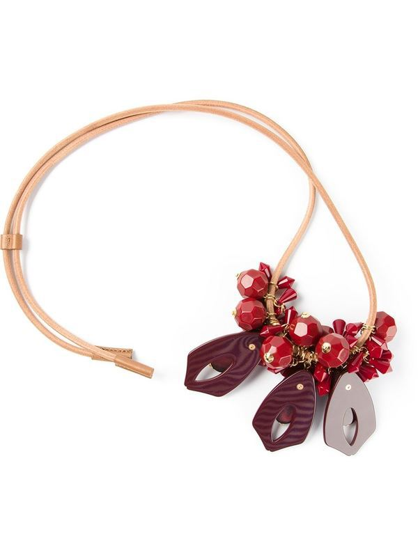 2015za long necklaces & pendants fashion costume chunky choker red flower necklaces chain luxury statement jewelry for women(China (Mainland))