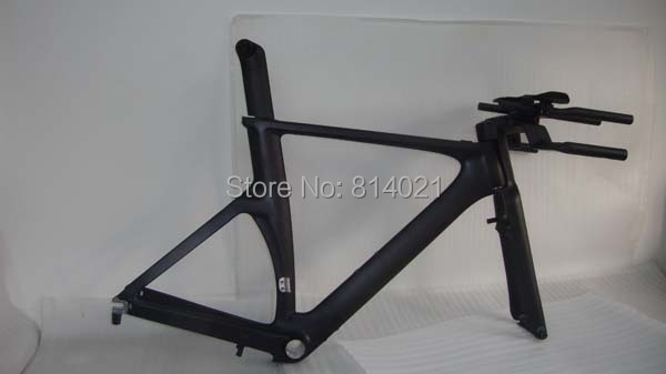 High Performance Carbon TT frame, Chinese Time Trial frame with fork & seatpost& handlebar(China (Mainland))