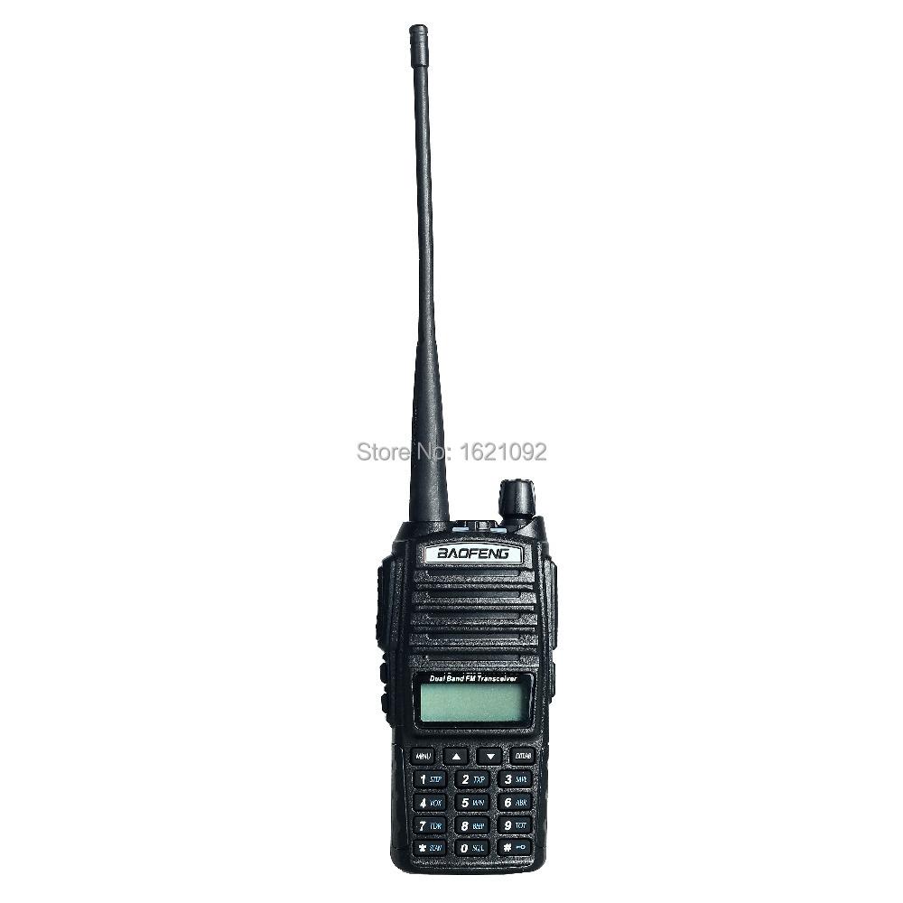 BaoFeng uv-82 Walkie Talkie amateur radio Dual Band Two Way Radios Hot Sale Model Pofung uv 82 ham radio with Double PTT headset(China (Mainland))
