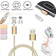 Buy USB Type C Data Charging Cable Magnetic Type C Micro USB Charging Cable Samsung LG Huawei Xiaomi Android for $3.94 in AliExpress store