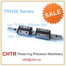 linear guide for cnc (1 pc TRH30 L800mm Linear Guide Rail+2 pcs TRH30B Linear Pillow Blocks)