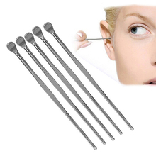 5 Pcs Stainless Steel Ear Pick Wax Curette Remover Cleaner Care Tool Earpick(China (Mainland))