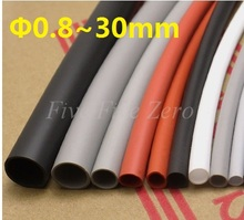 11mm Flexible Soft 1.7:1 Silicone Heat Shrink Tubing  Brand New High Quality – 1 Meter