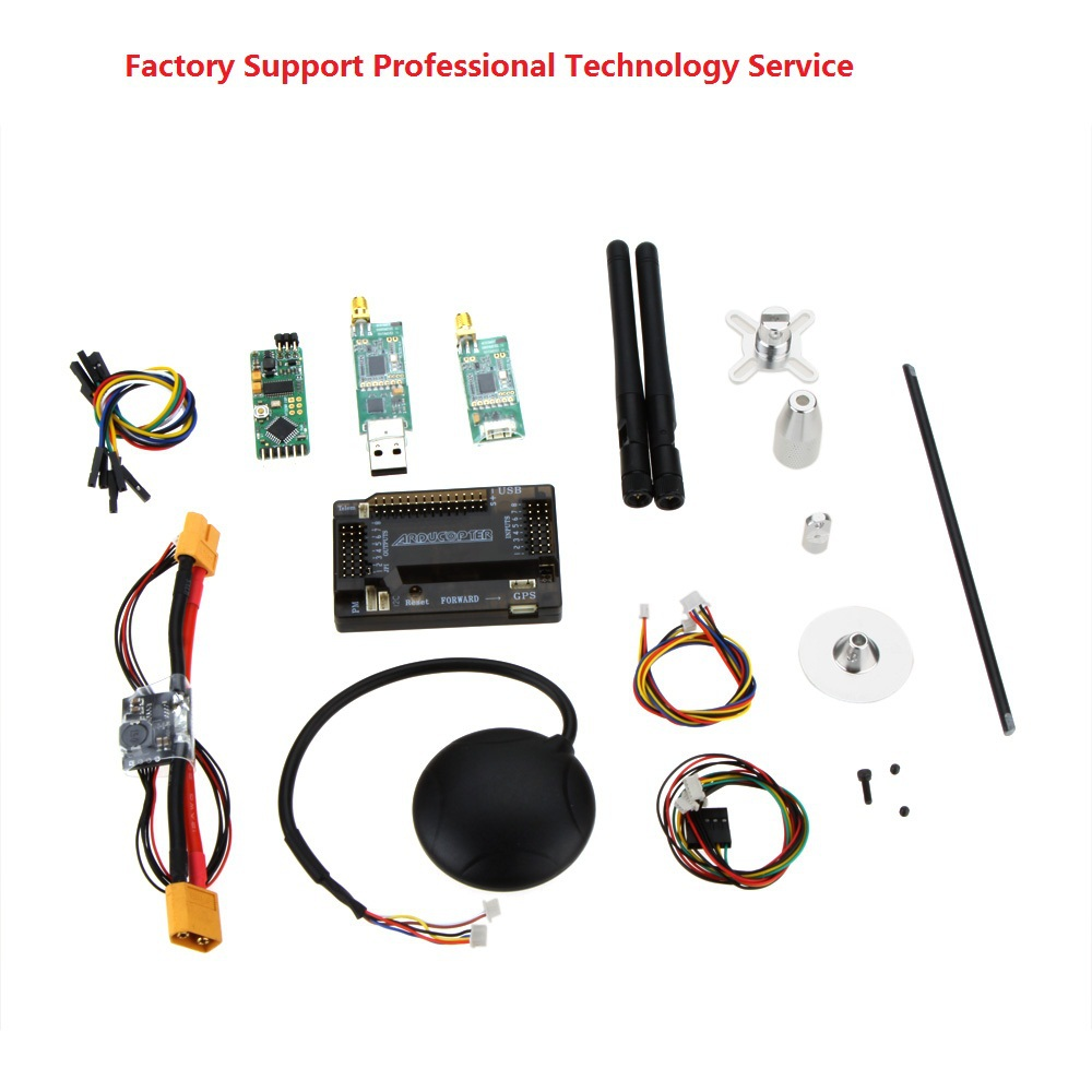 free shipping factory cheapest apm2.6 power module+ 6M GPS w/ Compass+ 915 433Mhz 3DR Radio Telemetry &OSD for RC Hobby diy dron(China (Mainland))