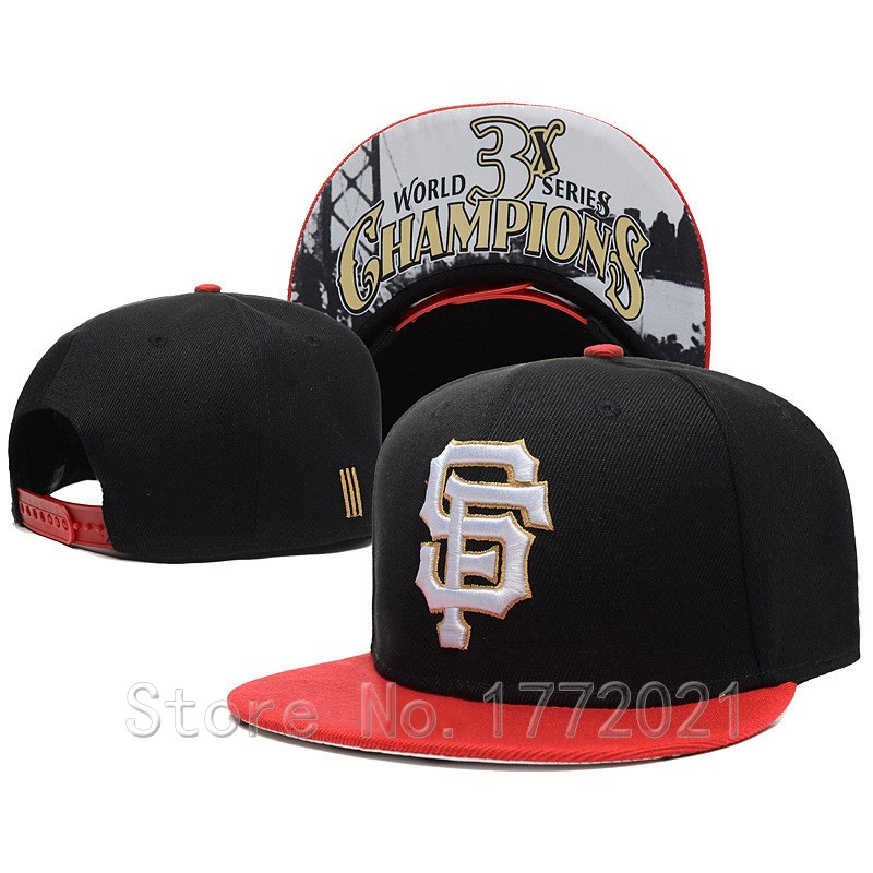 Men's SF adjustable baseball sport team hats Hasher champion print San Francisco Giants snapback caps(China (Mainland))