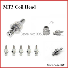 MT3 EVOD Replacement 2.4ohm Bottom Heating Coil Head Electronic Cigarette Detachable MT3 Clearomizer Coil Head Core  50PCS/lot