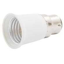 Торговый время! Горячая распродажа серебристый пластик B22 для E27 свет лампы гнездо адаптера конвертер
