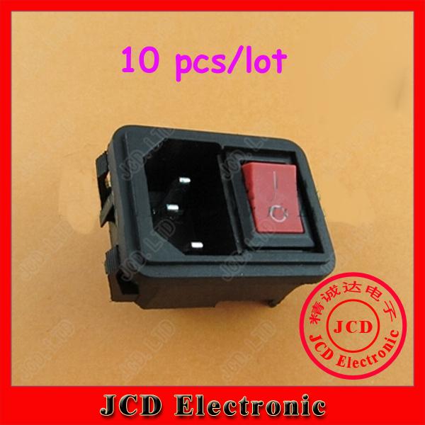 Электрическая вилка Jcd 2 1 10 AC 2Pin 10 250 AQ_023