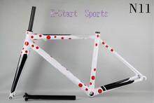 2016 new Glossy/Matte carbon t800 road bike frame cycling 840g fork seatpost clamp hedaset frameset 700c carbon,BB68, ud 3k
