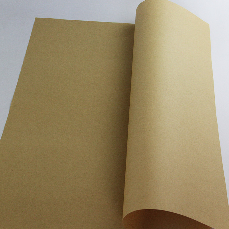 5pcs/lot 60gsm Eco-friendly Kraft Paper Kraft Wrapping packaging Paper DIY Paper bags(China (Mainland))