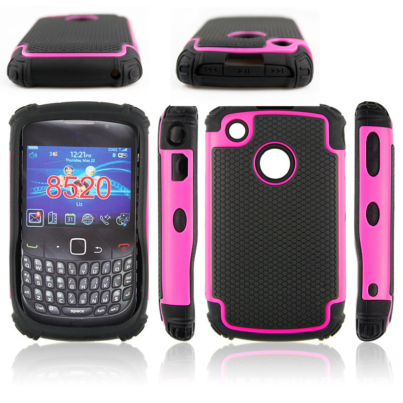 500pcs/lot Combo Case Hybrid Hard Case For BlackBerry 8250 Football Line Dropproof Shockproof Case Hard Cover Free Shipping(China (Mainland))