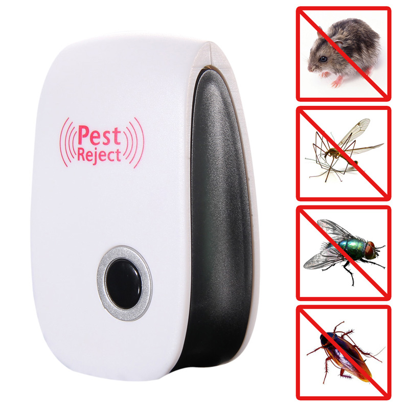 High Quality Electronics Ultrasonic Mouse Trap Anti Pest Bug Mosquito Cockroach Mouse Killer control de plagas FEN#(China (Mainland))