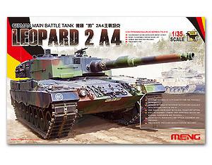 Фотография MENG TS-016 Leopard 2A4 main battle tanks