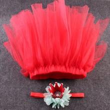 2016 Children Crib Babe Newborn Baby Girl Princess Crown Hearwear Headband Chiffon Tutu Party Dance Tulle Skirt Ball Gown 0-3T(China (Mainland))