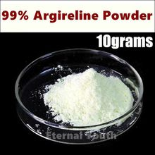 10grams 99% Argireline Areginine Powder High quality Cosmetic Ingredient Acetyl Hexapeptide-8 Anti Aging Ageless Skin Care