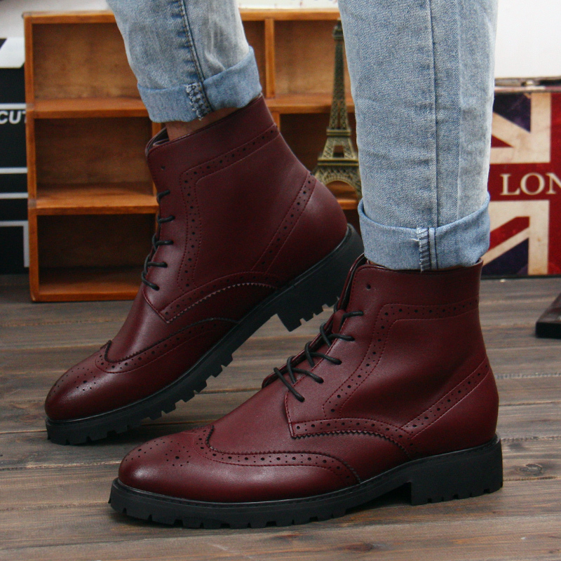 aliexpress buy 2015 winter leather boots fashion