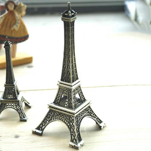 2015 New New 15cm Home Decoration Eiffel Tower Metallic Model Bronze Color Iron Romantic 1N15 5G1H(China (Mainland))