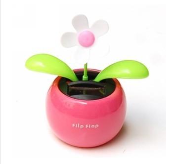 Free shipping Solar Powered Dancing Flower(China (Mainland))