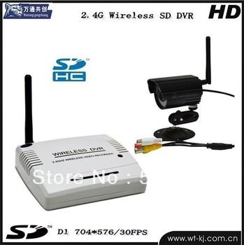 2.4G Wireless dvr Kit + 1pcs wireless infrared night...
